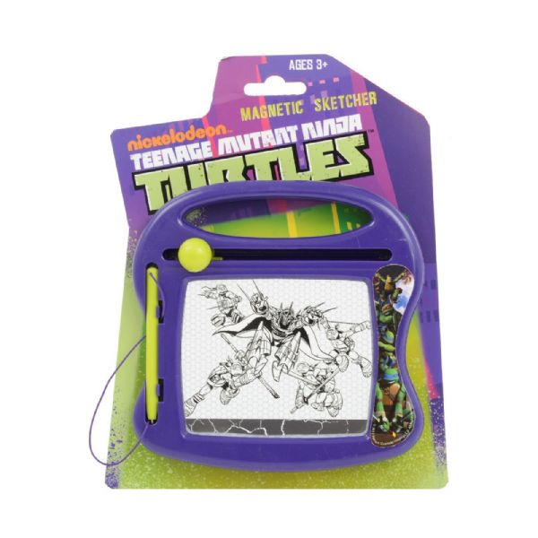 Disney Nickelodeon Teenage Mutant Ninja Turtles Mini Magnetic Sketcher 3 + Years